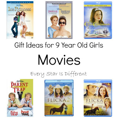 Gift Ideas for 9 year Olds; Movies