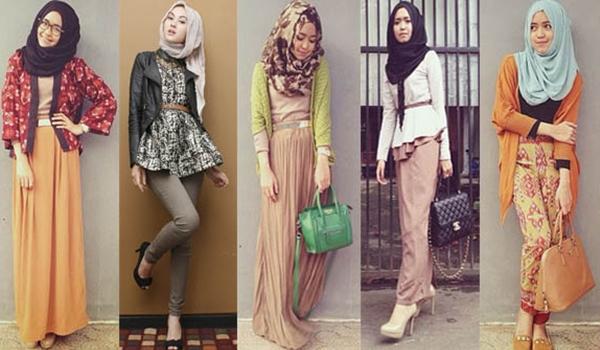 Kumpulan Trend Model Baju Muslim Remaja Masa Kini Tahun 2017