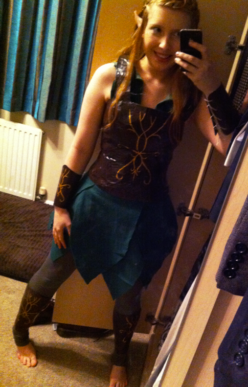 Tauriel Costume by Katie