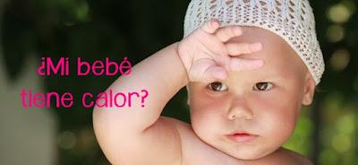 saber si mi bebé tiene calor