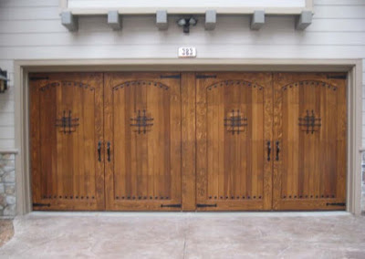 model pintu garasi minimalis terbaru