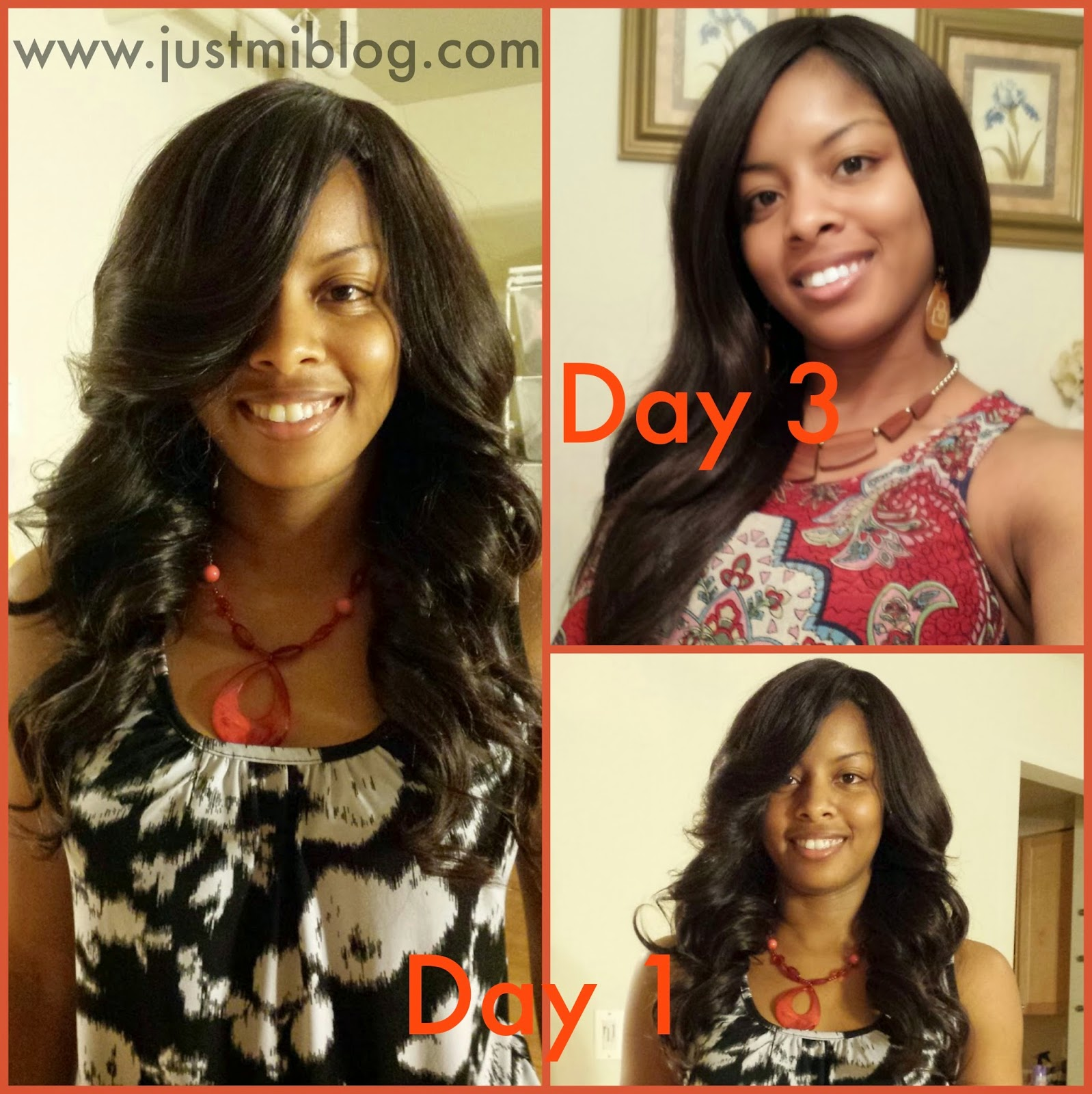 A full sew-in as a protective style for natural hair