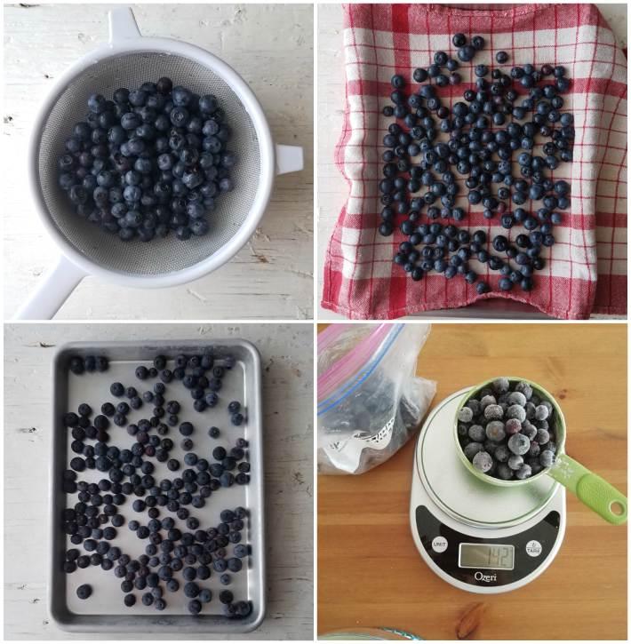 Paso a paso de cómo congelar frutas