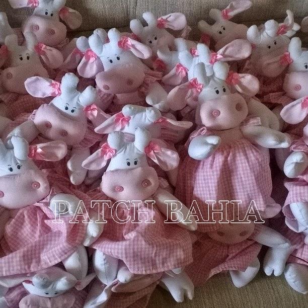Festa Fazendinha para menina….as Vaquinhas cor de rosa