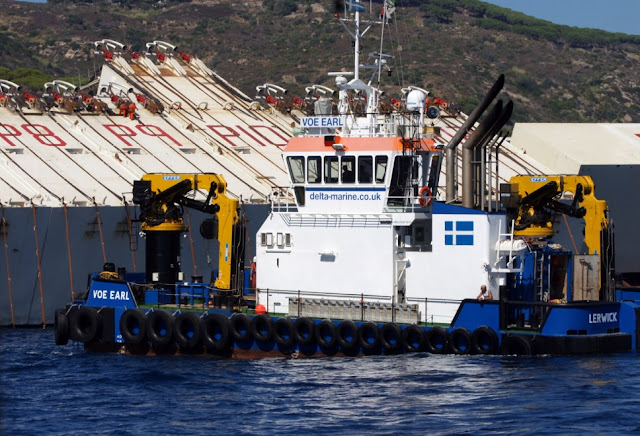 Costa Concordia recovery