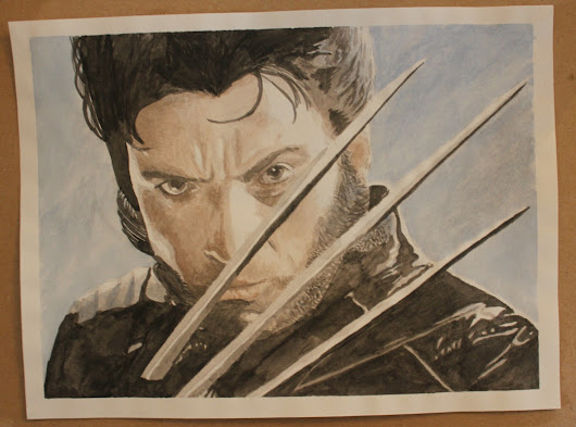 My Bookish Art: Wolverine
