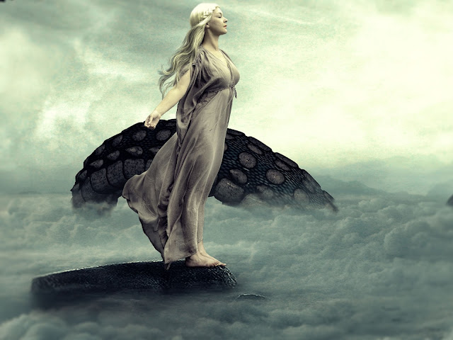Mother Of Dragons Fantasy Photo Manipulation — Photoshop Tutorial