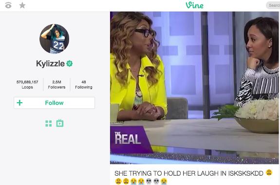 Kylie Dizzies Tamar Braxton