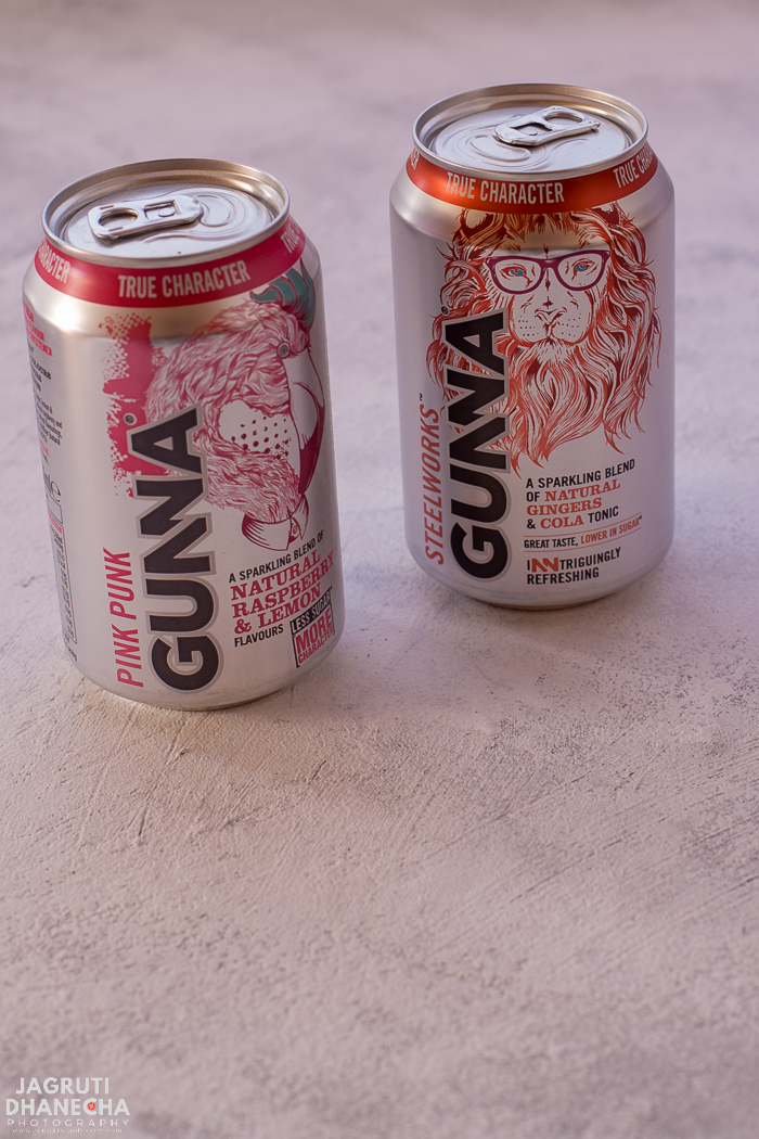 Pink Punk Gunna fizzy drinks with low sugar