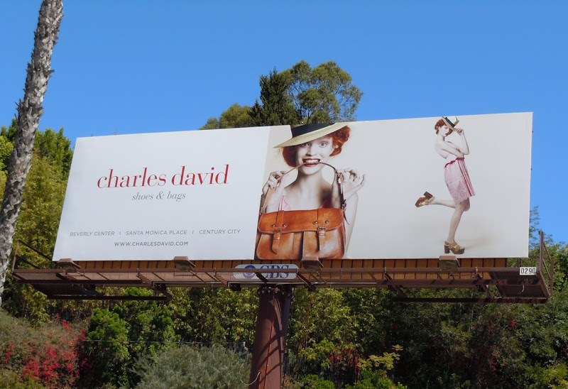 Charles David shoes and bags billboard