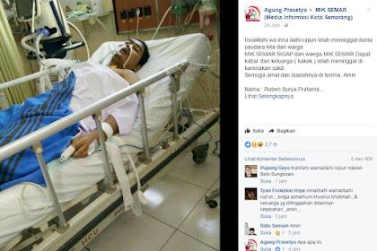Pemuda Ini Meninggal Setelah Hina Habib Rizieq, Apakah Terkait Mubahalah?