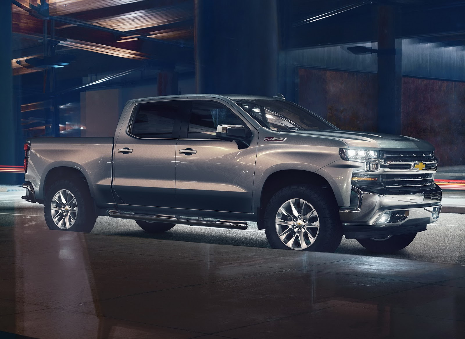 Ford F 150 3.0 Diesel >> Fourtitude.com - Next-gen 2019 Chevrolet Silverado 1500 unveiled — All new from the ground up ...