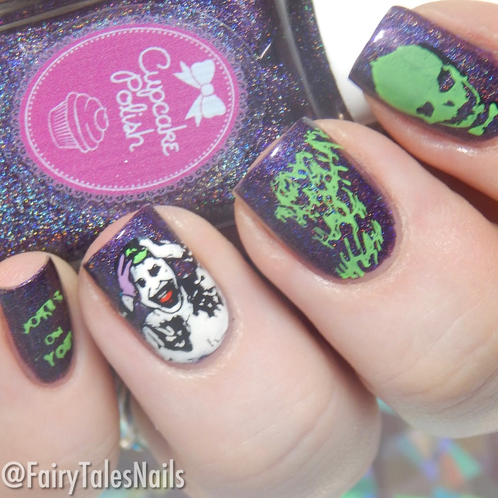 Joker From Suicide Squad Nails