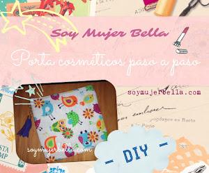 Porta cosméticos - DIY