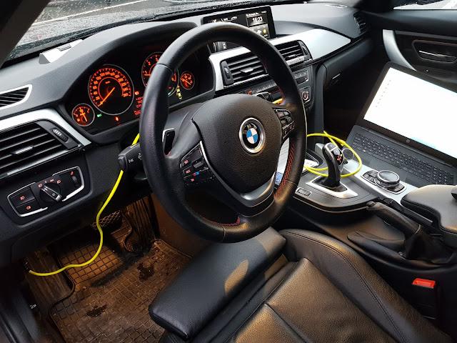 Codare BMW, update software, activare și modificare funcții și opțiuni