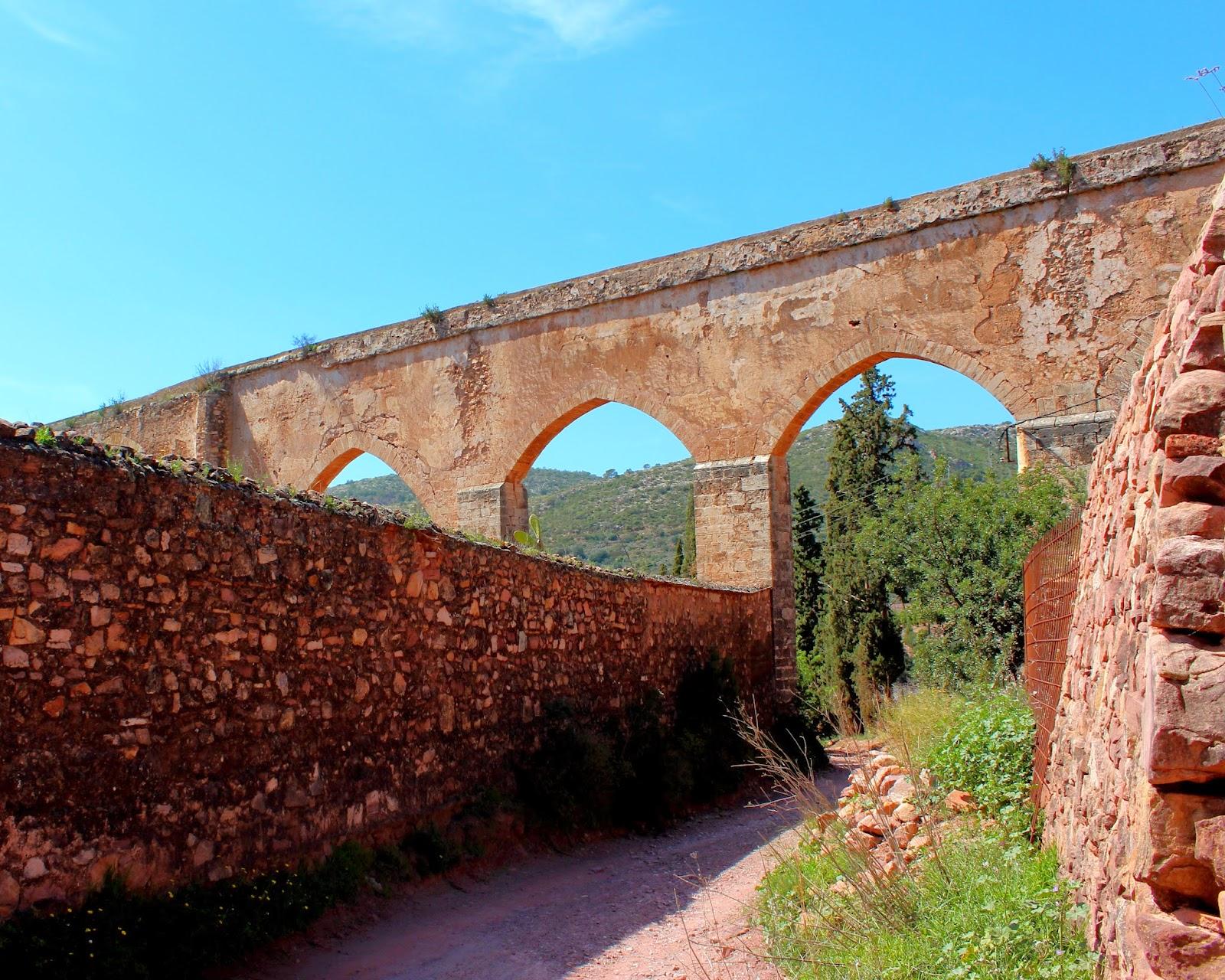 Acueducto de Porta Coeli-Sierra Calderona
