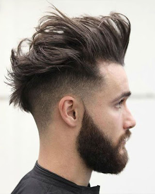 peinados levantados parte de arriba hombres