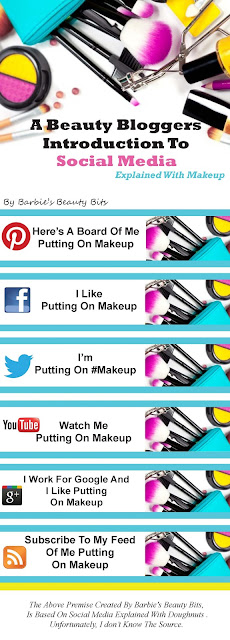 Everything you wanted to know about social media explained with makeup, by Barbies Beauty Bits