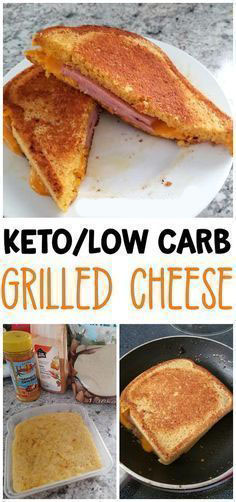 Keto Low Carb Grilled Cheese Recipe