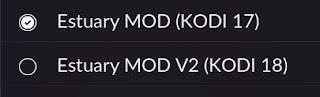 Skin Estuary Mod para Kodi 17