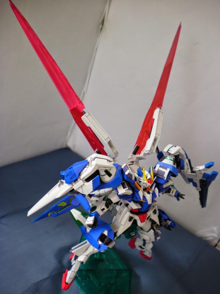 Hg 1 144 Oo Seven Swords Xn Raiser Custom Build Gundam Kits Collection News And Reviews