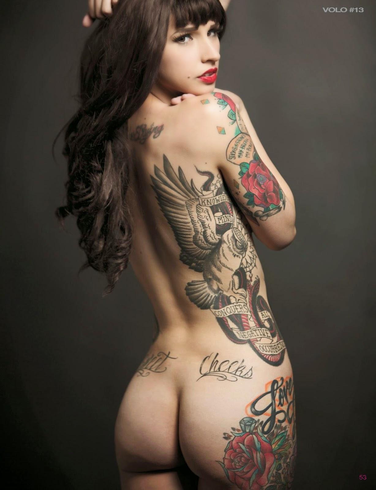 inked and fucking naked girls