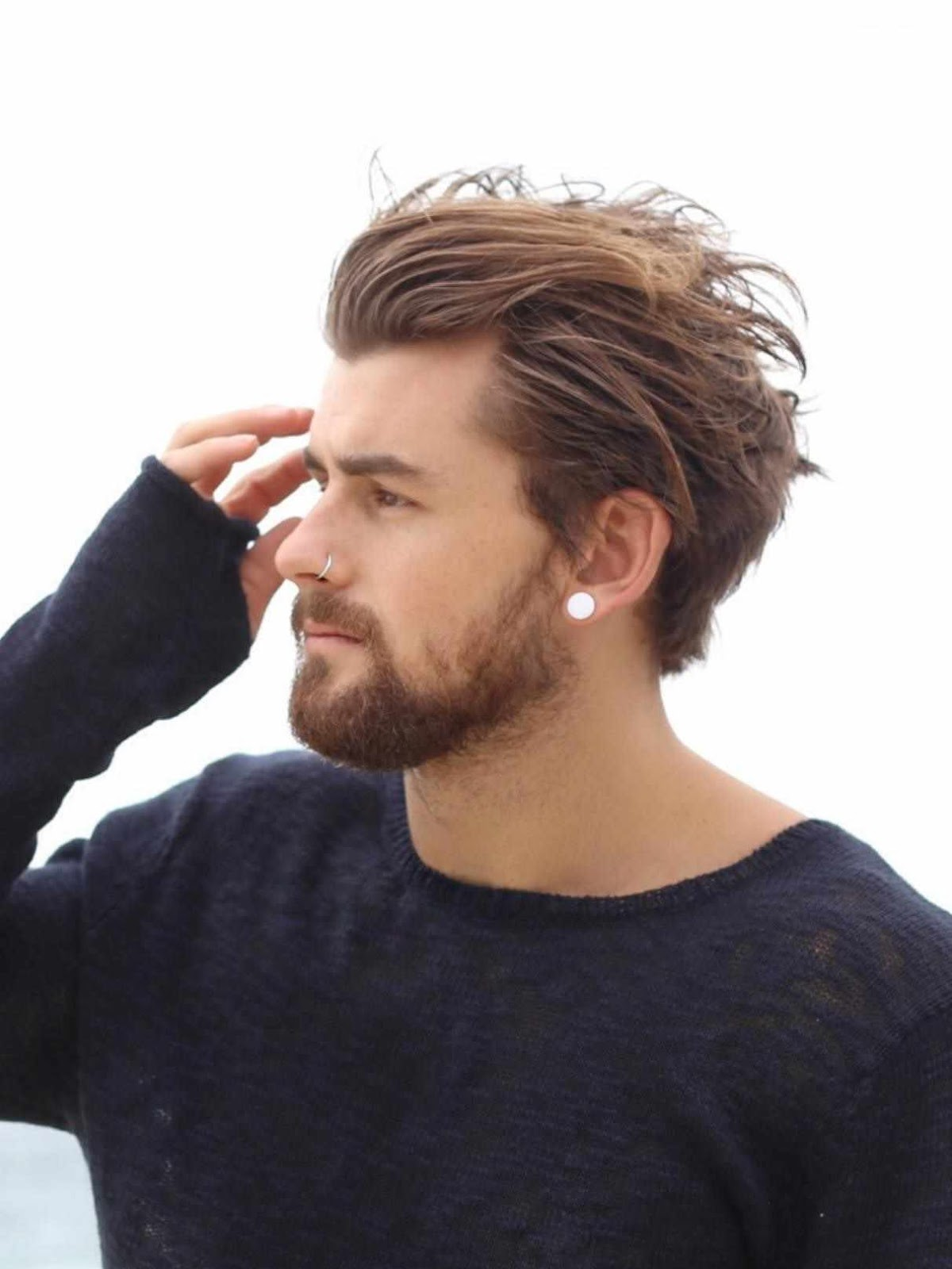 Haircuts For Round Face Indian Men