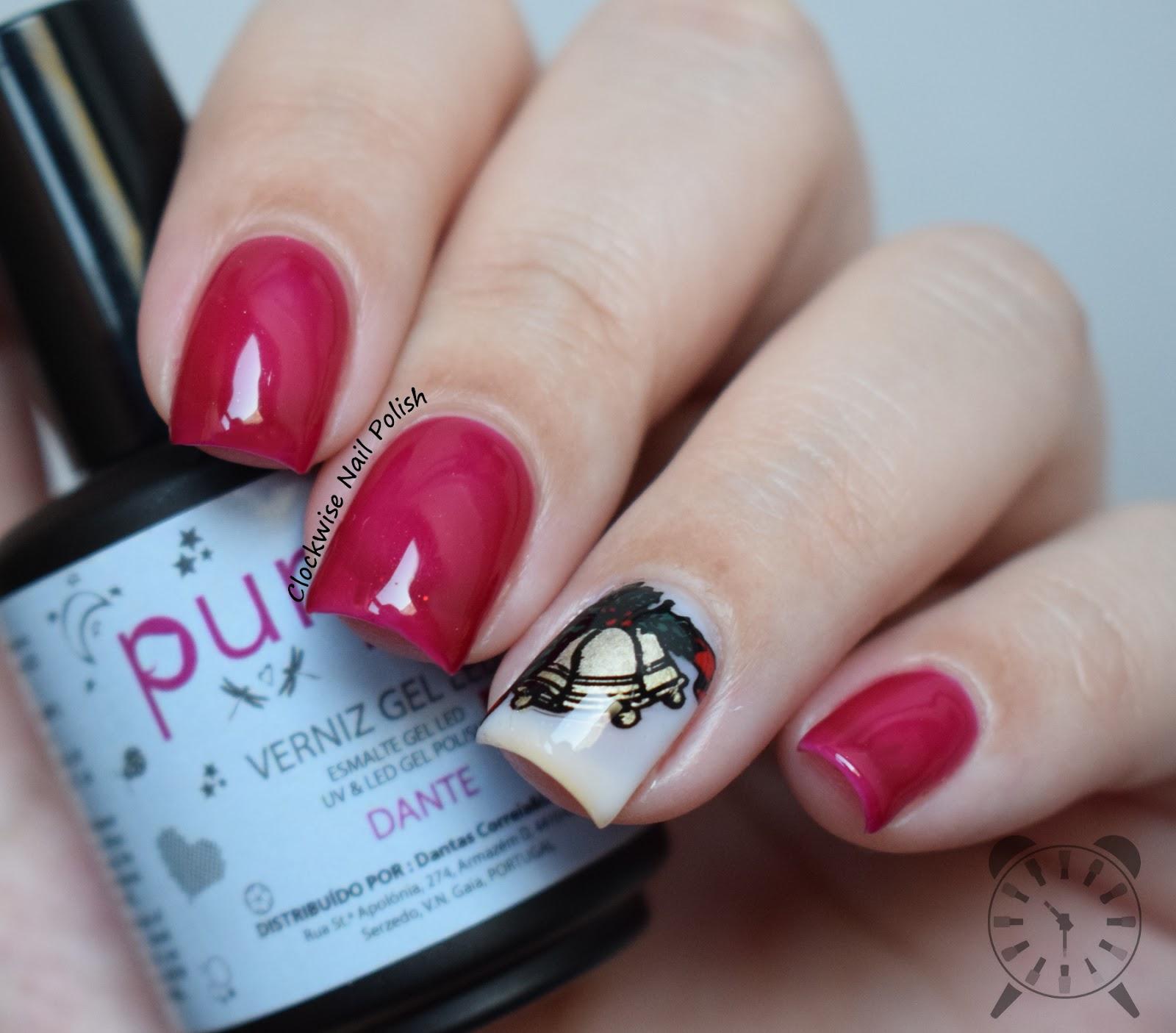 The Clockwise Nail Polish: Purple Professional Tegan & Dante Gel ...