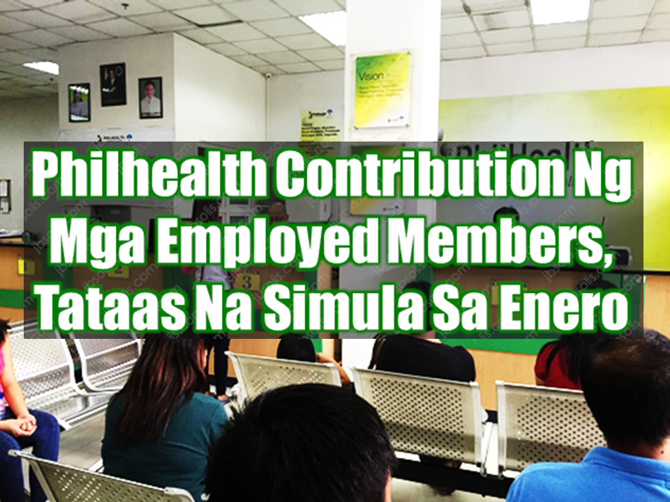 A new round of increase in Philhealth contribution of  employed members awaits as the new year approaches. According to Philippine Health Insurance Corporation (PhilHealth), the adjustment is to be made to sustain the government's National Health Insurance Program (NHIP).   Rosario Suyom, chief of PhilHealth health care delivery management division said that  the increase  will be at 2.75%, .25% higher than the present rate of 2.5%.  The amount is computed straight based on the monthly basic salary, with pay ranging from PHP10,000 to PHP40,000. The amount is equally shared by workers and their employers. Sponsored Links  Under the new adjustment, employees earning P10,000 and below will pay a monthly premium of P275. Those with monthly salaries of above P10,000 up to P40,000, the health insurance premium ranges from PHP275 to PHP 1,099.  Those employed with monthly pay of PHP40,000 an above will have to pay PHP1,100 to avail the government health insurance program.  Additional funds generated from higher premium will be used to finance senior citizens benefits, expansion of Z-benefits for catastrophic illness, primary care benefits coverage of non-indigent members, and enhanced case rates.  Categorized as employed members are those with formal contracts and fixed terms of employment including workers in the government and private sector, whose premium contribution payments are equally shared by the employee and the management.  PhilHealth emphasized that it needs the support of all its members in order to achieve its mandate to provide social health insurance coverage to all Filipinos and to sustain the NHIP.  In 2016, PhilHealth paid P101 billion for the benefit expenses of its members and collected P103.7 billion in premium contributions.  In Eastern Visayas alone, the state-run corporation is eyeing to pay P4 billion in health benefits his year. Source: PTV News