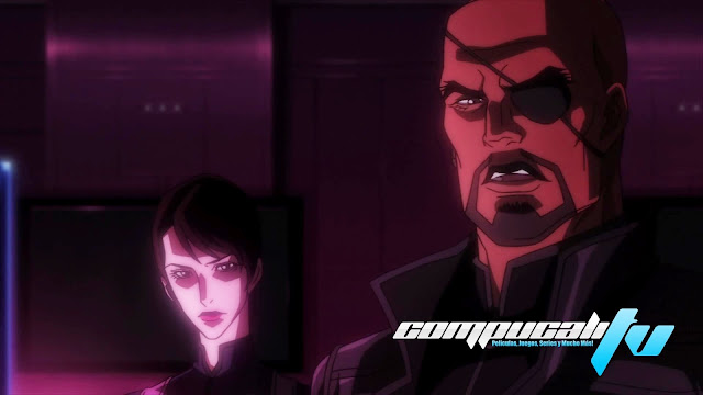 Avengers Confidential Black Widow and Punisher 1080p HD Latino