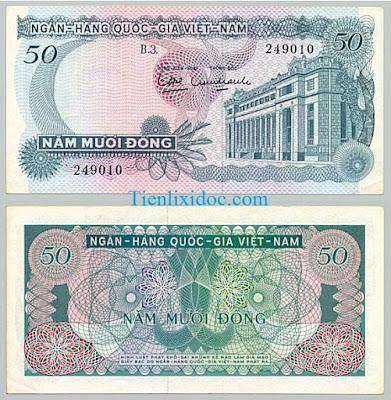 50 đồng việt nam cộng hòa 1969