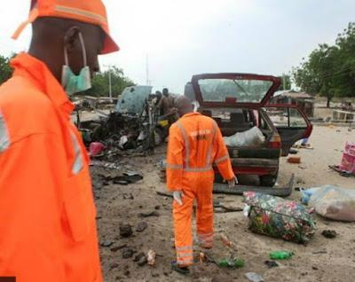 suicide bomb explosion maiduguri