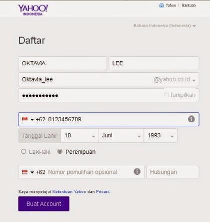 Cara Membuat Akun Email Di Yahoo!