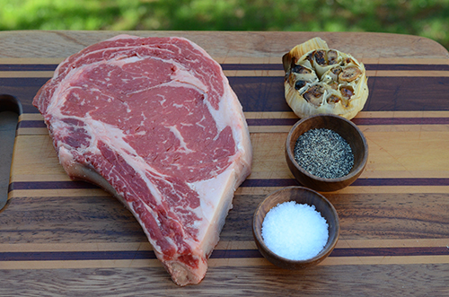 basic steak recipe, easy steak recipe, how to grill a steak, garlic steak