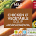 Marks & Spencer Recall Chicken & Vegetable Soup due to Possible Chemical Contamination