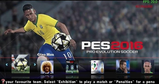 Pes 2016 ISO PPSSPP