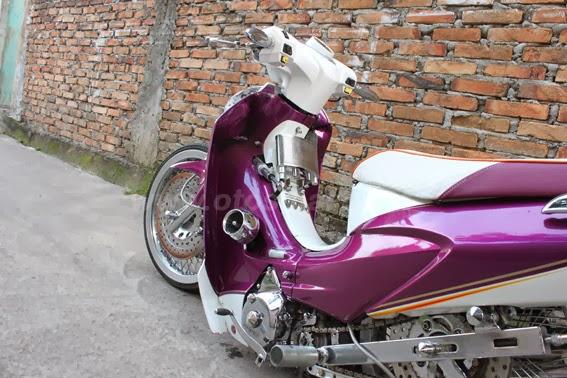 Foto Modifikasi Ceper Honda Karisma