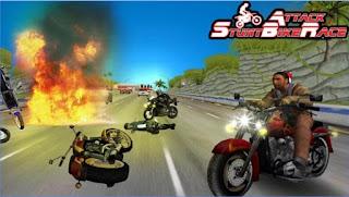 Game Stunt Bike Attack Race App