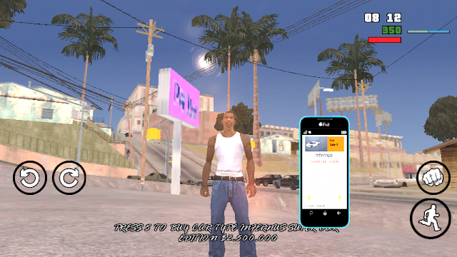 GTA V Interactive Phone version 2 Mod (with Fix)