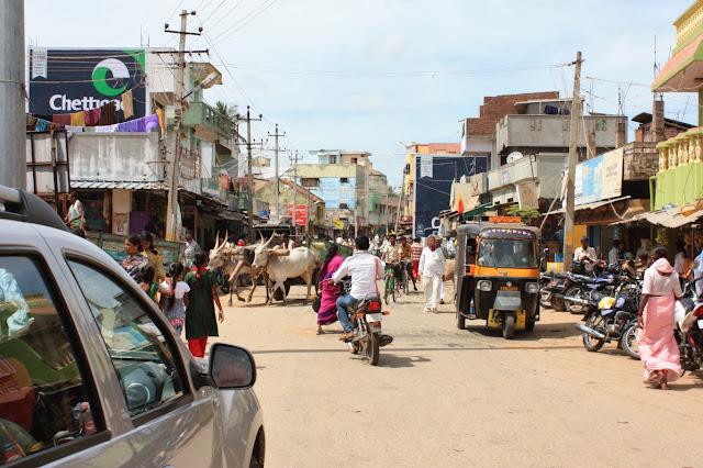 Yellandur town near BRT tiger reserve, Karnataka