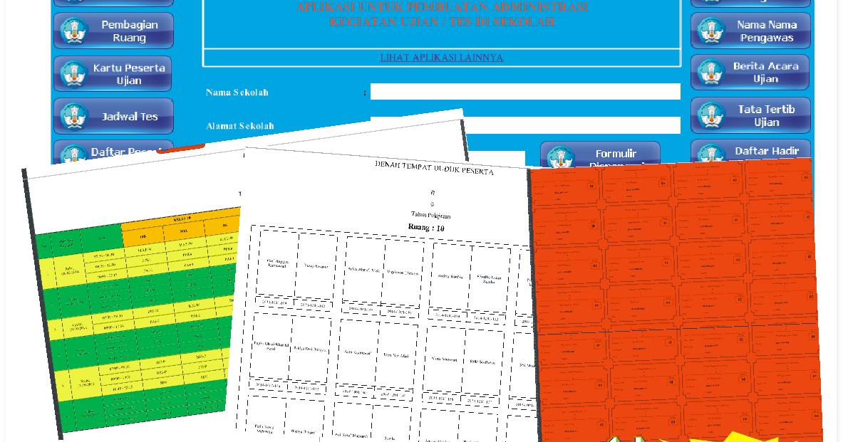 Download Aplikasi Administrasi Ulangan Sekolah Lengkap 2016 File Terbaru