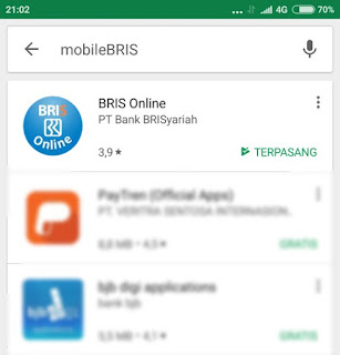 Aplikasi Terbaru Mobile BRIS Untuk Android