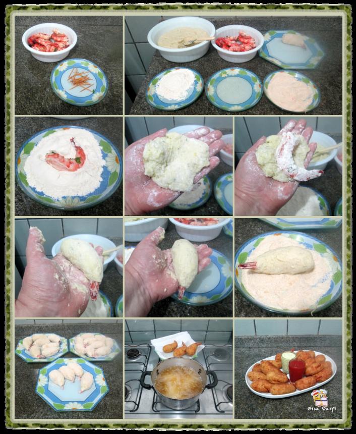 Camarão empanado 5