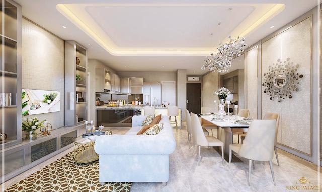 Giá bán căn hộ chung cư King Palace