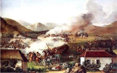 Imagen del lugar de batalla