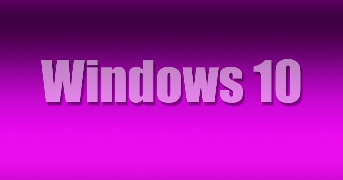 3d Purple Wallpaper For Tablet Paarse Windows 10 Achtergrond Met Tekst Bureaublad