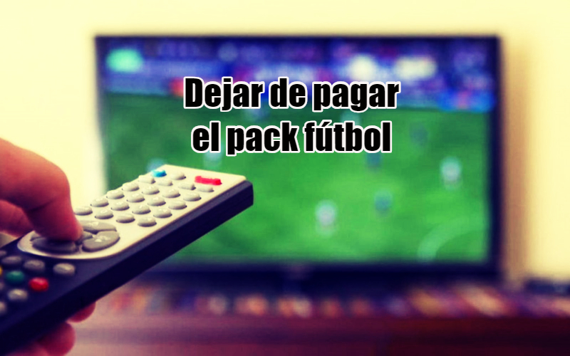 como dar de baja el pack futbol de la superliga argentina