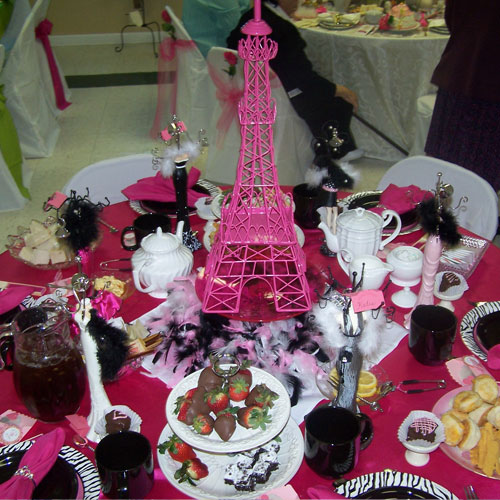 Lovely Ladies' High Tea Party Ideas