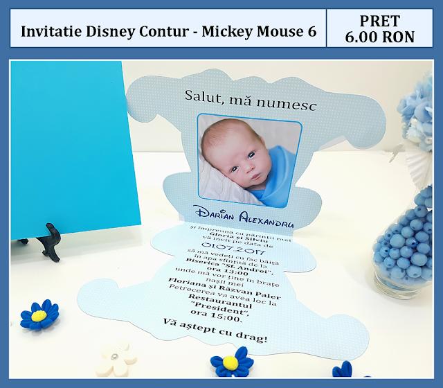 invitatii mickey mouse