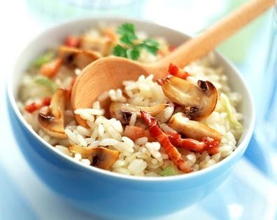 arroz con panceta